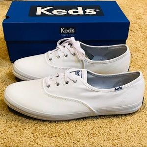 KEDS Ortholite Champion White Canvas
